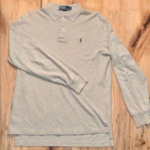Polo Ralph Lauren Long-Sleeve Knit Polo